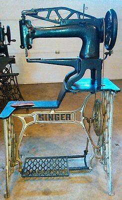 Singer 29-2 Shoe Patch Leather Sewing Machine,Very Good Wotking Cond.,Like 29-4