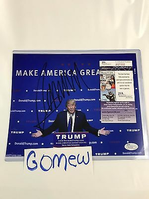 Donald Trump Signed 8x10 JSA Authentication SHIPS SAME DAY