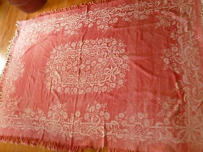 Antique Large Turkey Red Cloth