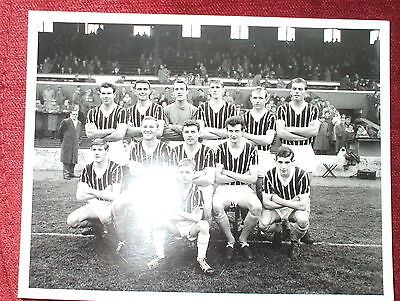 Manchester City Team 1-12-61 Photograph Print By Empics