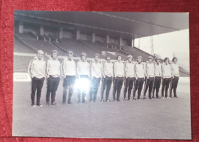 Manchester City Team 1-8-72 Photograph Print By Empics