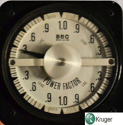 BBC Power Factor meter