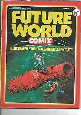 WARREN FUTURE WORLD COMIX - ILLUSTRATED STORIES of INCREDIBLE FANTASY sept. 1978