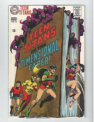 Teen Titans 16 Vf/nm Condition Nick Cardy Awesome Looking Classic Cover Robin