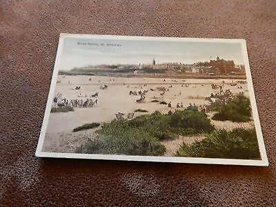 Early postcard- West Sands - St Andrews -Fife  Scotland