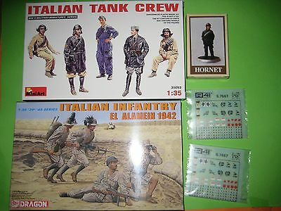 KOMBO  FIGURINI ITALIANI II GM & DECALS - scala 1/35