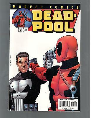Deadpool #54 Punisher Classic Cover High Grade Nm 9.4-9.6