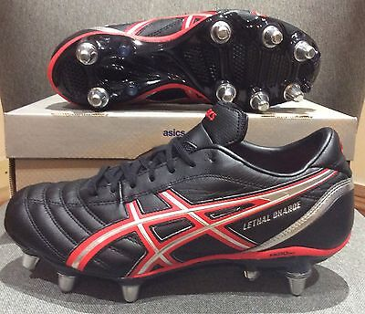 Asics Lethal Charge Rugby Boots BNIB Size UK 8.5
