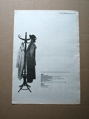 Style Council - Discography 1985 Music Advert Poster Size 16 X 12 Ephemera