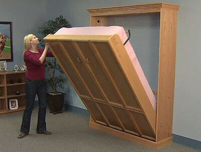 Do-It-Yourself Create-A-BedⓇ Murphy Bed Hardware Kit, Plans & DVD