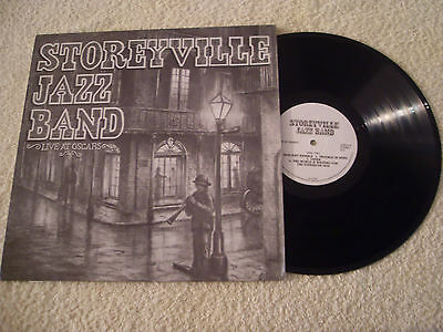 Storyville Jazz Band.......live At Oscars......lp 1985......dixieland / Ragtime