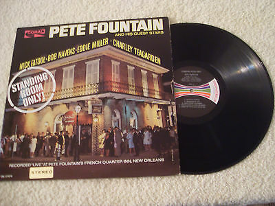 Pete Fountain......standing Room Only.....lp 1965......dixieland Jazz