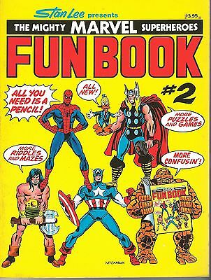 FIRESIDE SUPERHEROES FUN BOOK #2 1977 MARVELStan Lee comics