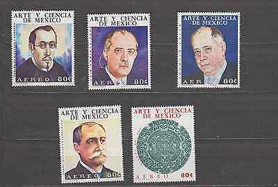 Mexico 1974 Art & Science Set Mint Never Hinged