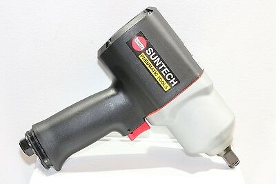 "New Suntech 1/2"" Pneumatic Air Impact Wrench Twin Hammer Composite 1100 ft-lbs"