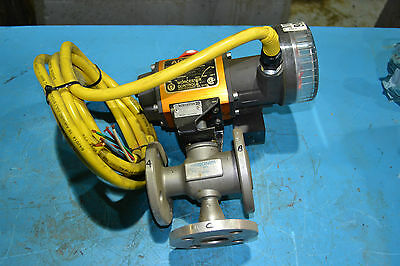 Hobonim 1'' 3 way valve with Access Worcester actuator 10I 39 ZM2120 P BC R6