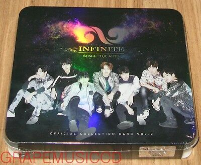 Infinite Official Star Collection Card Set Vol.2 Limited Edition Sealed