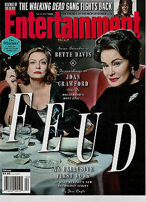 Entertainment Weekly January 27 2017 Issue 1450 Feud Walking Dead