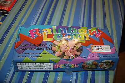 RAINBOW LOOM. HUGE LOT Rubber Band Bracelet Jewelry making kits 2 looms bands