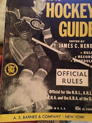 National 1946 Official Hockey Guide/ Official Rules. Canadian.