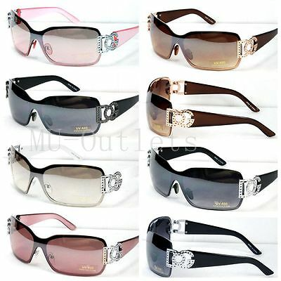 New DG Eyewear Womens Mens Shield Designer Sunglasses Shades Fashion Retro(#859)