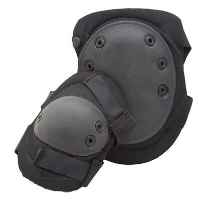 Humvee Tactical Knee and Elbow Pads US Elite Duty Gear Field Gear Pads Black*