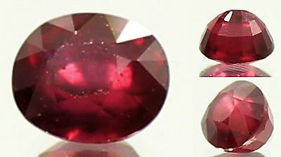 Awesome 2.37CT Natural Blood Red Ruby