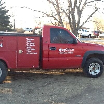2001 Chevy Utility truck 2500