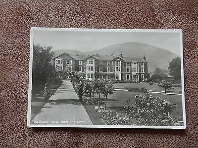 Real Photo Postcard- Ullswater Hotel from Lawns -Lake District / Cumbria