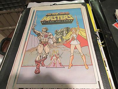 Masters of Universe ,He-Man ,She-Ra ,USA Today ,Newspaper Clipping /Poster ,1986
