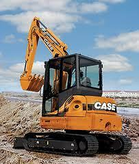 5.5 Tonne CASE CX55B Excavator Hire $375 a Day - Delivery Available