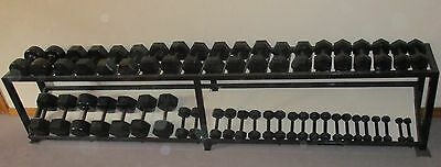 Rare super huge set of dumbbells with rack suit Home Gym PT Club - Adelaide SA
