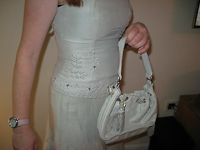 Coast Two Piece Dress Outfit With Matching Bag