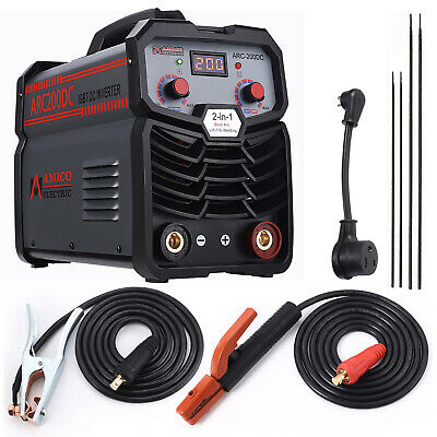 ST-205, 205-Amp TIG Torch Stick Arc DC Welder, 115V & 230V Dual Voltage Welding