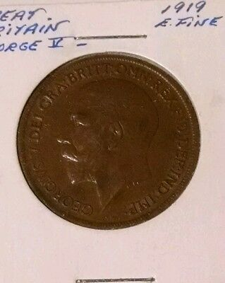 1919 Great Britain 1 Penny (509)