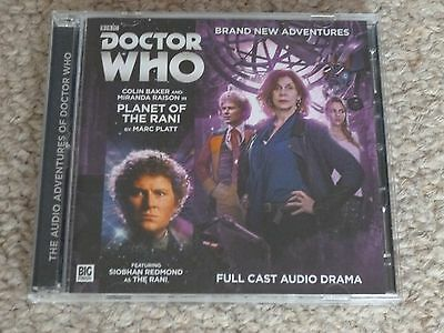 Planet of the Rani - DR WHO full cast audio 2 CD BBC Big Finish Colin Baker