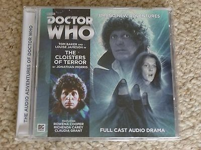 The Cloisters of Terror - DR WHO BBC Full cast audio CD BIG FINISH Tom Baker