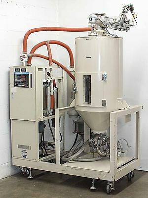 Matsui Polycarbonate Plastic Materials Dryer and Hopper As Is DMZ-120