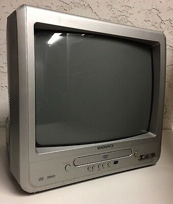 Magnavox Mwc16 13 Crt Tv Dvd Combo Player Color Television