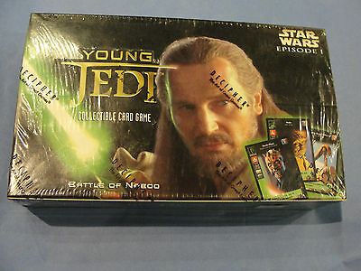 Star Wars - Young Jedi - CCG BATTLE OF NABOO Booster Box 30 Packs  NEW