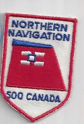 Northern Navigation, Soo Canada Souvenir Travel Patch