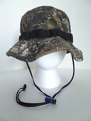 8615ffd07 CABELA'S HUNTING SPORTING Woodland Camouflage Camo Large Size Boonie Bucket  Hat