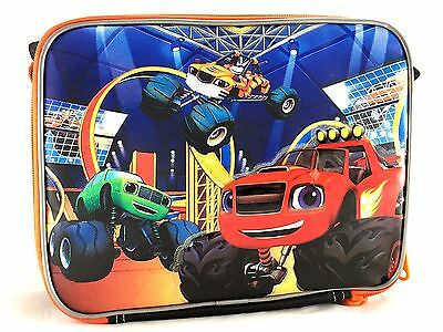 Blaze And The Monster Machines Blazing Speed School Insulated Lunch Bag