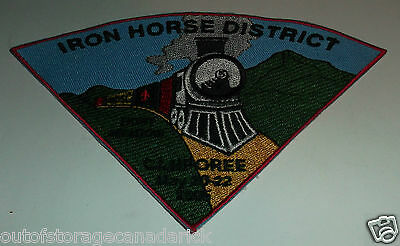 Iron Horse District Port Meadow Camporee May 20-22 2005 Patch Boy Scout Patch