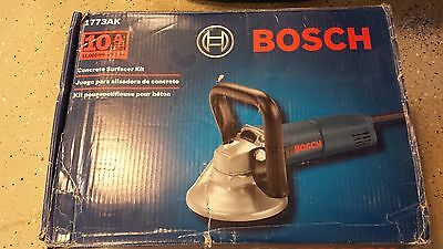 Bosch 5'' Concrete Surfacing Kit surface grinder 1773AK 10 amp 5-Inch NEW