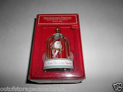 Hallmark Ornament First Christmas Together 1986 - NEW