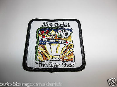Nevada The Silver State Patch - NOS New
