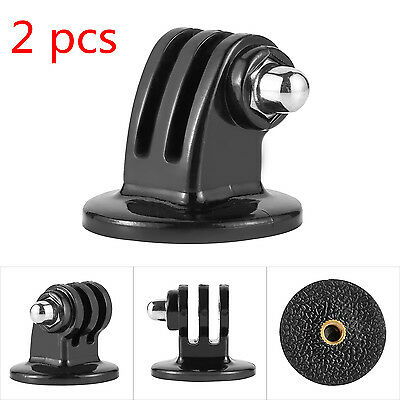2Pcs Monopod Tripod Mount Adapter Holder  For Camera GoPro HD Hero 1/2/3/4【US】