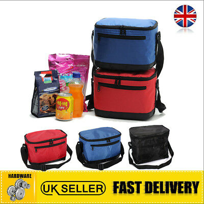 UK Lunch Box School Home Picnic Insulated Thermal Cooler Carry Tote Storage Bag