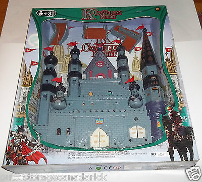 K Castellan Knight Large Castle Brand New In Box - RARE Toy Castle